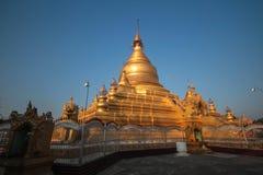 myanmar pagoda Royaltyfri Foto