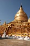 myanmar pagoda royaltyfria foton