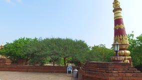 Myanmar, pagoda de ka de Dhamma Ya Zi dans Bagan banque de vidéos