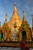 Myanmar Pagoda. Travel through historical places in Myanmar / Birma royalty free stock photo
