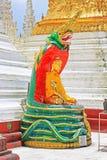 myanmar pagodashwedagon yangon Royaltyfri Foto