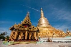 Myanmar Pagode Royalty-vrije Stock Afbeelding