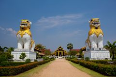 Myanmar Palace Royalty Free Stock Photos