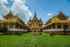 Myanmar palace,bago Royalty Free Stock Photos