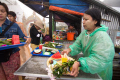 Myanmar people Royalty Free Stock Photo