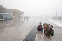 Myanmar people Stock Image