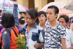Myanmar people Stock Photography