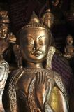 Myanmar, Pindaya: 8000 buddha's cave Royalty Free Stock Photos