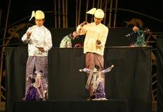 Myanmar puppet Stock Image