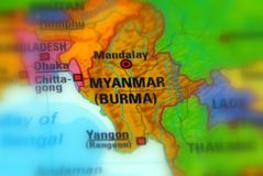 Myanmar, Republic of the Union of Myanmar Burma. Myanmar, officially the Republic of the Union of Myanmar and formerly known as Burma stock images