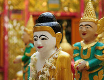 Myanmar rzeźba Obraz Royalty Free