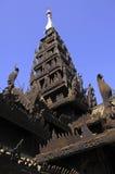 Myanmar, Salay: yosqson kyaung monastery Stock Images