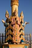 Myanmar-Skulptur stockbilder