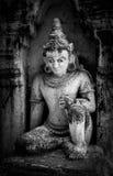 Myanmar-Skulptur Lizenzfreie Stockfotografie