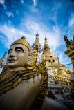 Myanmar standbeeld Stock Foto's