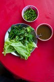 Myanmar street food Royalty Free Stock Photography