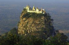 Myanmar, supporto Popa Fotografie Stock