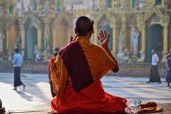 Myanmar Swedagon Yangon. Travel through historical places in Myanmar / Birma stock photos