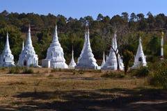 Myanmar tempel Arkivbild