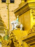 Myanmar tempel och lagar royaltyfri foto