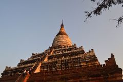 Myanmar temple Stock Image