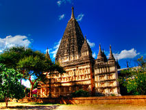 Myanmar, temple de Bagan - de Mahabodhi photographie stock libre de droits