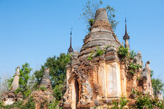 Myanmar temple Royalty Free Stock Images