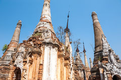 Myanmar temple Royalty Free Stock Photography