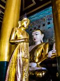 Myanmar temples and statutes. And Buddhas Stock Photography