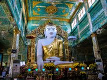 Myanmar temples and statutes. And Buddhas Stock Photos