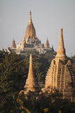 Myanmar,  temples and Stupas Royalty Free Stock Photography