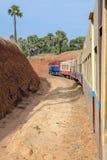 Myanmar train Stock Images