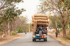 Myanmar transport Royalty Free Stock Photography