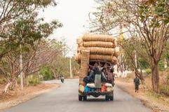 Myanmar transport Royalty Free Stock Photography