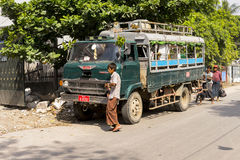 Myanmar Transportation Stock Image