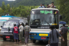 Myanmar Transportation Stock Image