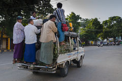 Myanmar Transportation Stock Photography