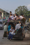 Myanmar Transportation Royalty Free Stock Images