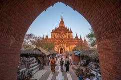 Myanmar travel Stock Image