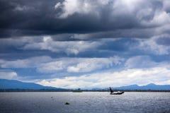 Myanmar, vida no lago Inle foto de stock
