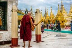 myanmar yangon стоковое изображение