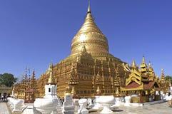 Myanmar, Yangon : Pagoda de Shwedagon Photos libres de droits
