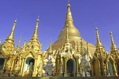 Myanmar, Yangon: Shwedagon pagoda Stock Images