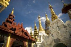 Myanmar Yangon: Shwedagon Pagode Stockbild