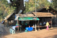 Myanmar Yangon Street view Royalty Free Stock Image