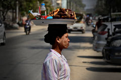 Myanmar Yangon royalty free stock images