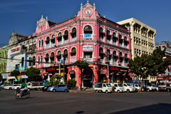 Myanmar Yangon. Travel through historical places in Myanmar / Birma royalty free stock images