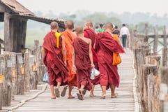 Myanmar życie Fotografia Royalty Free