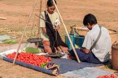 Myanmar życie Zdjęcie Stock