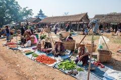 Myanmar życie Obrazy Royalty Free